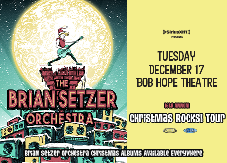 Brian Setzer Christmas 2019 The Brian Setzer Orchestra: Christmas Rocks! Tour | SMG Stockton