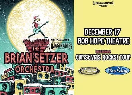 Brian Setzer Christmas.The Brian Setzer Orchestra Christmas Rocks Tour Asm