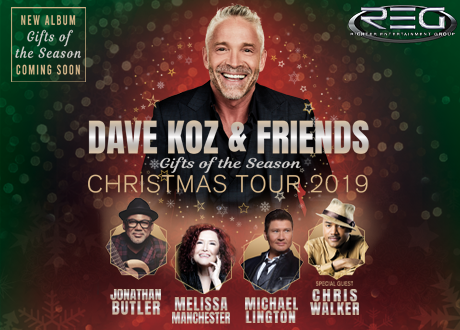 Dave Koz and Friends Christmas Tour 2019 | ASM Global Stockton