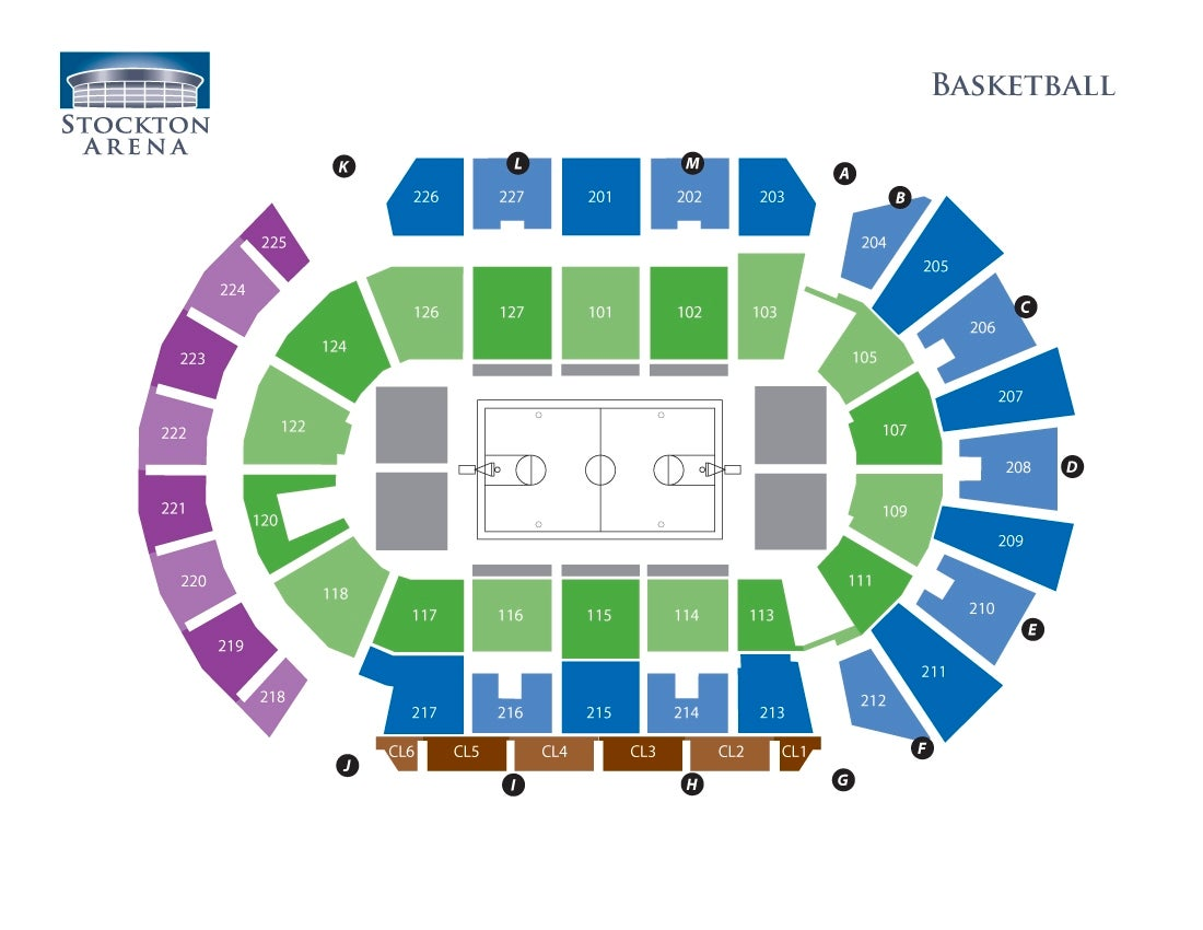Stockton Arena - Basketball