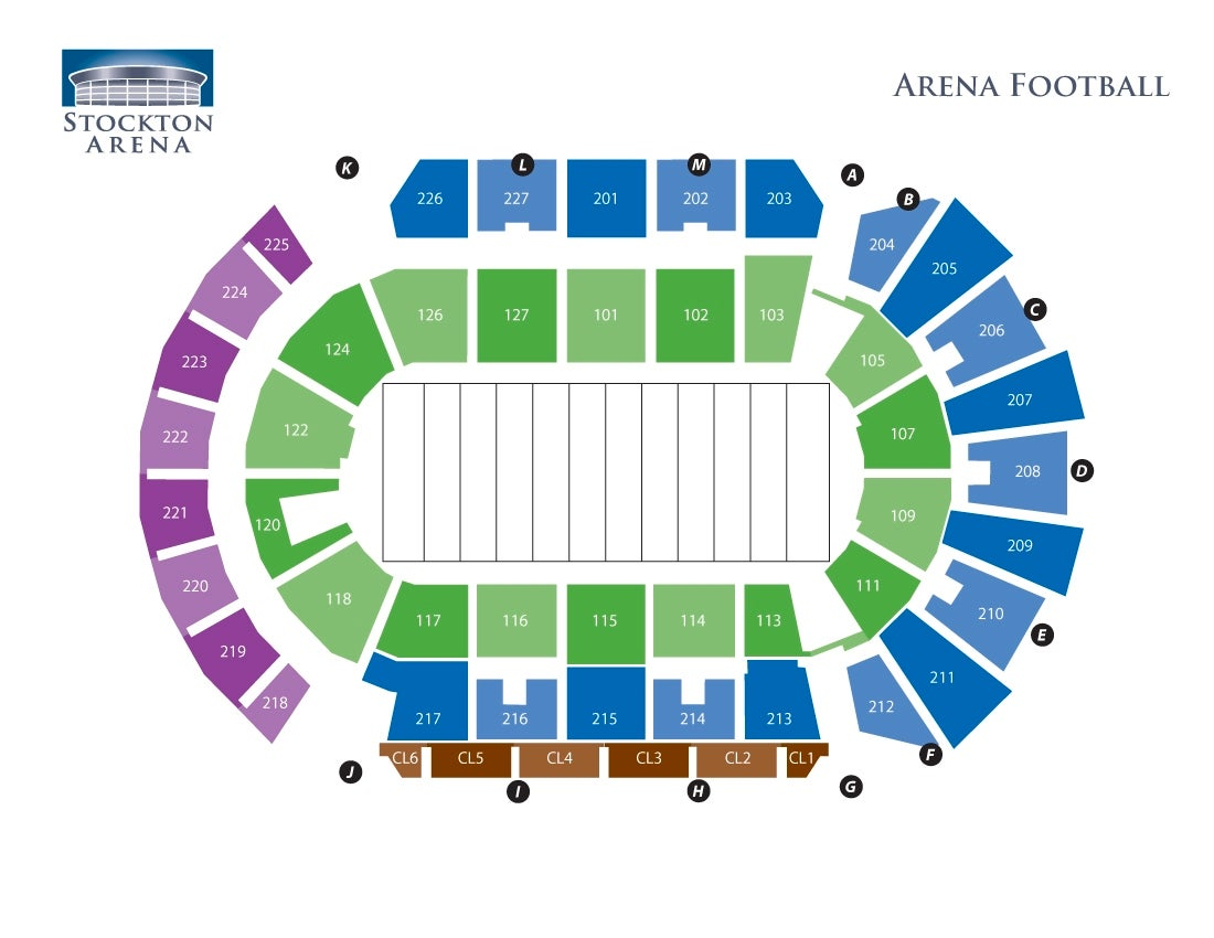 Stockton Arena - Football