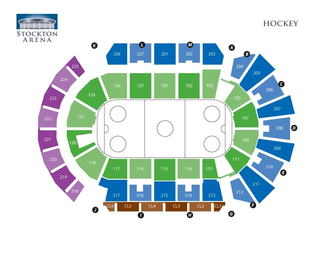 Stockton Arena - Hockey