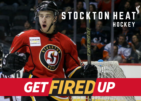 Stockton Heat Hockey Game Smg Stockton