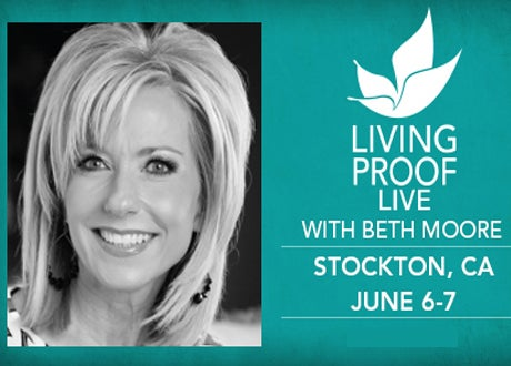 Beth Moore For Living Proof Live Smg Stockton